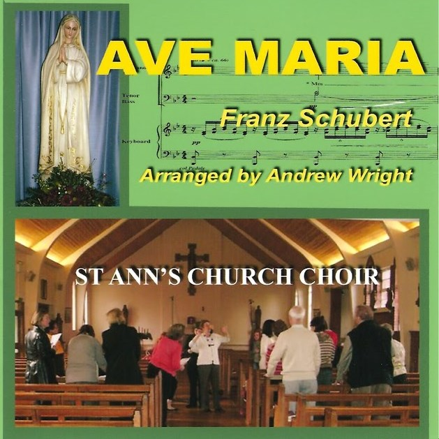 CD Cover for Ave Maria